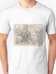 Vintage Map of Vienna Austria (1906) T-Shirt