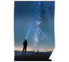 Stargazing - Great Smoky Mountains National Park, North Carolina Poster