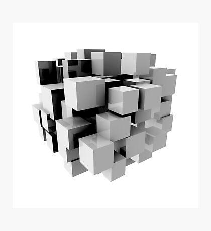 Cube Photographic Print