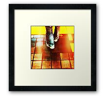 at a fraction of the cost Framed Print