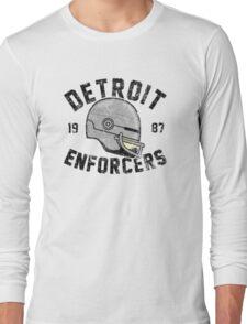 Detroit Enforcers Long Sleeve T-Shirt