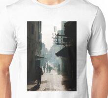 Smoke on the streets, Essaouira, Morocco Unisex T-Shirt
