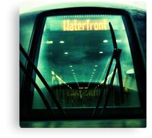 take me to the waterfront Canvas Print
