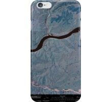 USGS Topo Map Washington State WA Starbuck East 20110405 TM Inverted iPhone Case/Skin