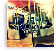 The Night Train Social Club Canvas Print