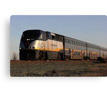 California Amtrak Commuter  Canvas Print