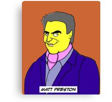 MasterChef Australia - Matt Preston Canvas Print