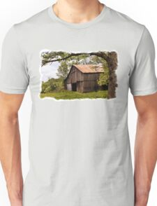 Another Spring ~ the Old Barn Still Stands T-Shirt