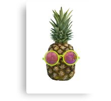 COOL PINEAPPLE Canvas Print