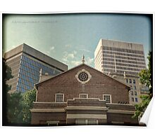 From South Main Street - Downtown Providence Poster
