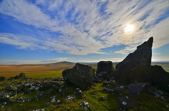 Dartmoor: The View From White Tor by Rob Parsons