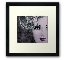 "Marilyn no9  "" Free Falling "" Framed Print"