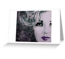"Marilyn no9  "" Free Falling "" Greeting Card"