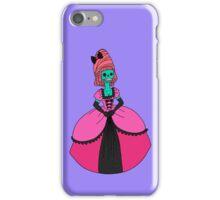 Fancy Skull Lady iPhone Case/Skin
