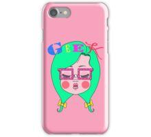 Geeky Girl iPhone Case/Skin