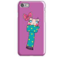 Cute Scarf Girl iPhone Case/Skin