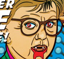Murder SHE Wrote Mug Sticker