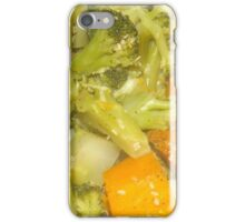 BROCCOLI AND SWEET POTATOES iPhone Case/Skin