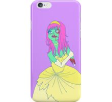 Zombie Princess iPhone Case/Skin