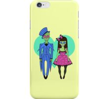 Skull Couple iPhone Case/Skin