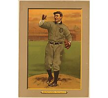 Benjamin K Edwards Collection Wild Bill Donovan Detroit Tigers baseball card portrait Photographic Print