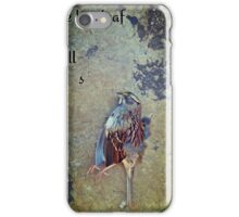 white-throated sparrow iPhone Case/Skin