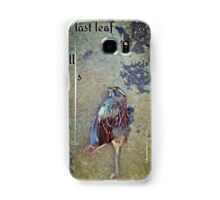 white-throated sparrow Samsung Galaxy Case/Skin