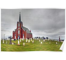 St. Columba in Iona, Cape Breton Poster