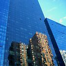 Reflections of 42nd Street by Nella Khanis