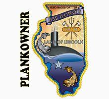 SSN-786 USS Illinois Plank Owner Crest Unisex T-Shirt