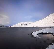 Frozen Loch by Fraser Ross