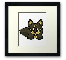 Wolf Hero Kirby Framed Print