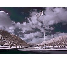 Punchbowl Memorial Infrared Photographic Print