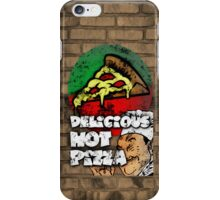 Delicious Hot Pizza  iPhone Case/Skin