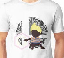 Lucas (Down Taunt, Blue/Orange) - Sunset Shores Unisex T-Shirt