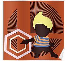 Lucas (Down Taunt, Blue/Orange) - Sunset Shores Poster