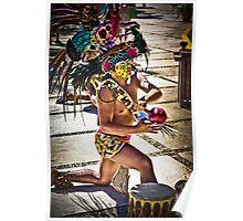 Costa Mayan Ritual Poster