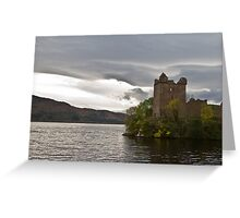 Urquhart Castle - Loch Ness Greeting Card