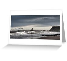 Whitby, west bay Greeting Card