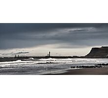 Whitby, west bay Photographic Print
