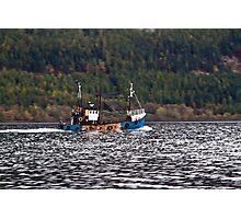 Loch Ness Fishing Photographic Print