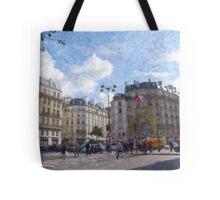 Paris Intersection Tote Bag