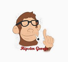 Hipster George Unisex T-Shirt