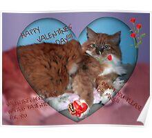 Valentine, Please Be Mine Poster