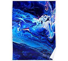 MEDITATION BLUE Poster