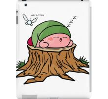 Sleepy Hero of time iPad Case/Skin