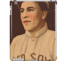 Benjamin K Edwards Collection Olaf Henriksen Boston Red Sox baseball card portrait iPad Case/Skin