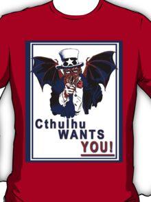 Cthulhu Wants You! T-Shirt