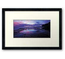 Mood in Refelctions Framed Print