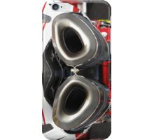 Exhaust for Ducati Factory Superbike iPhone Case iPhone Case/Skin